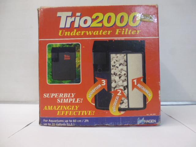Filtre interne Trio 2000 aquarium <75L